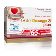 Load image into Gallery viewer, GOLD OMEGA 3 PLUS