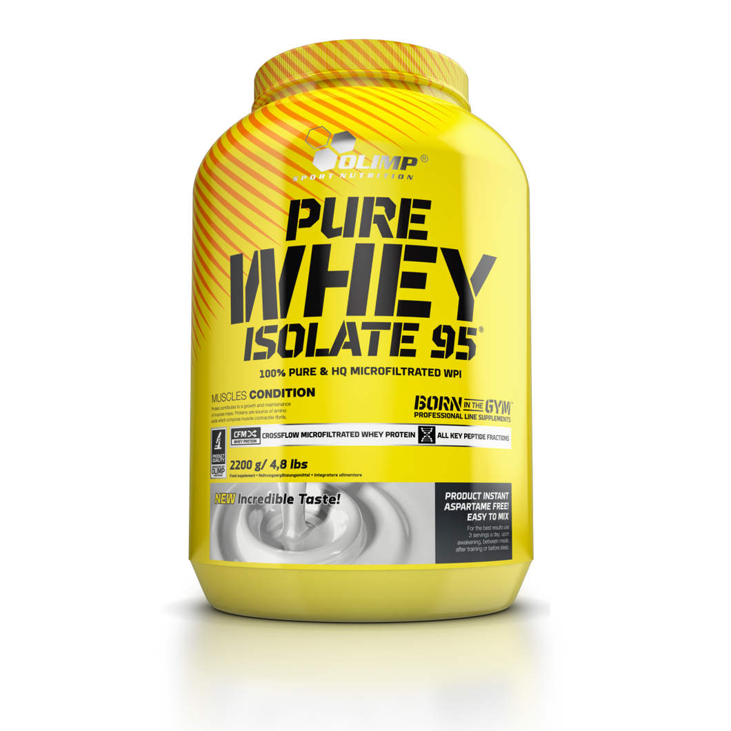 PURE WHEY ISOLATE 95 2.2 kg