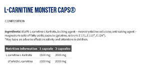 L-Carnitine Monster Caps®