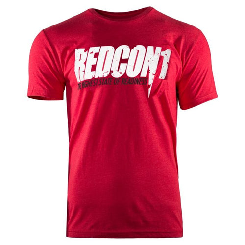 T-Shirt Red/White Logo Redcon1
