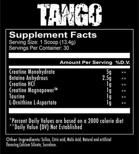 TANGO CREATINE RECOVERY SOLUTION