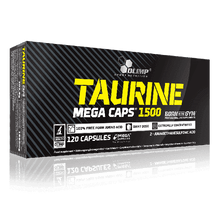 Load image into Gallery viewer, TAURINE MEGA CAPS 1500