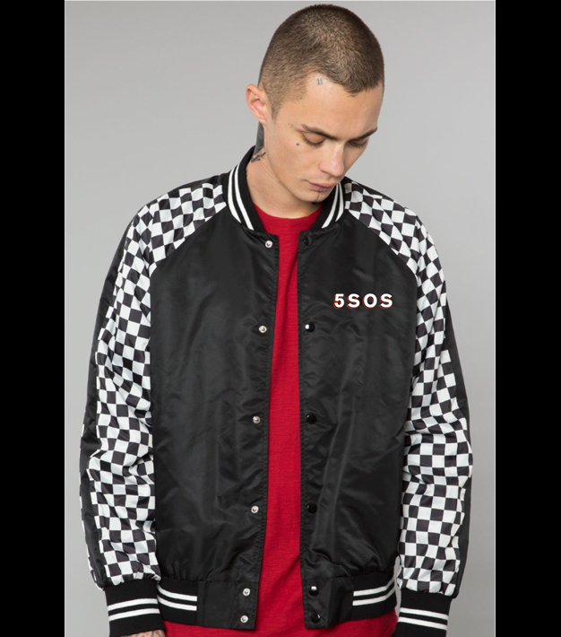 YOUNGBLOOD CHEQUERED JACKET