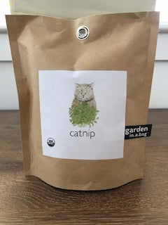 Potting Shed Creations Organic Catnip Garden in a Bag