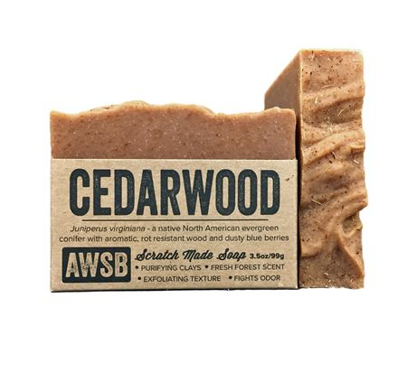 Cedarwood Soap by A Wild Soap Bar