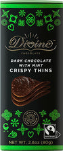 Load image into Gallery viewer, Divine Chocolate Crispy Thins