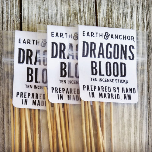Earth & Anchor Dragons Blood Incense