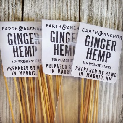 Earth & Anchor Ginger Hemp Incense