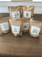Load image into Gallery viewer, Potting Shed Creations Organic Chive Garden in a bag