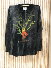 Load image into Gallery viewer, Tree of Life Print Hoodie (Black)