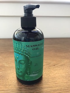 Buddhalicious Sore Muscle Massage Oil