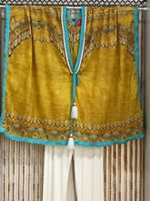 Load image into Gallery viewer, Vibrant Cotton Kaftan in Gold