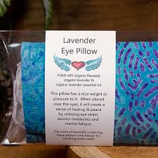 Lavender Eye Pillow by Deep Breath Designs