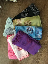 Load image into Gallery viewer, Om Mantra Shawl or Scarf