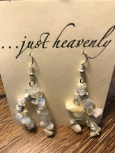 Load image into Gallery viewer, Two Strand Tumbled Gemstone Earring
