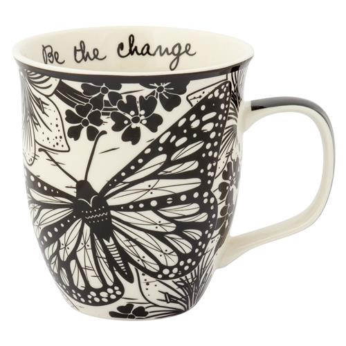 Be the Change Butterfly Mug