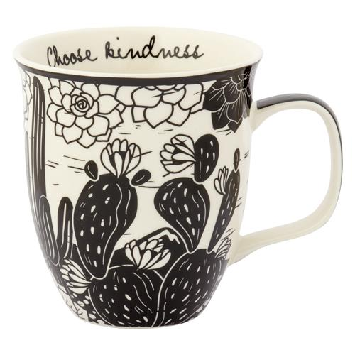 Choose Kindness Cactus Mug