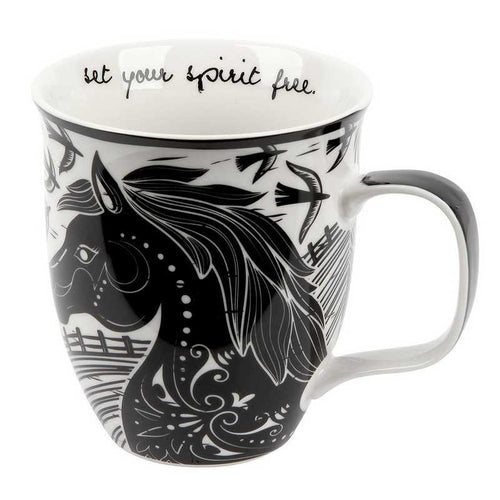 Set Your Spirit Free Horse Mug