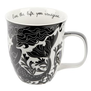 Live the Life You Imagine Mermaid Mug