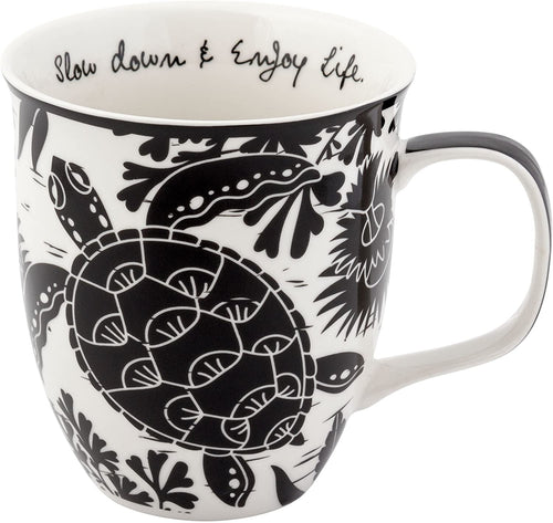 Slow Down & Enjoy Life Sea Turtle Mug