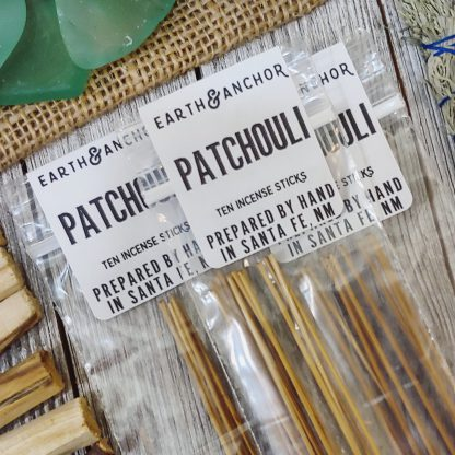 Patchouli Incense from Earth & Anchor