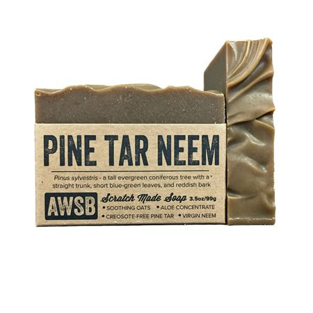 Pine Tar Neem Soap by A Wild Soap Bar