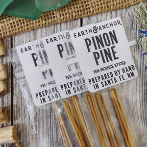 Pinon Pine Incense from Earth & Anchor