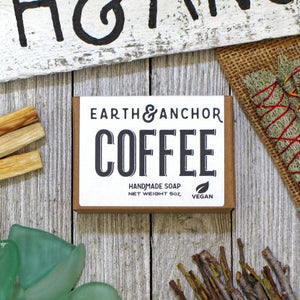 Earth & Anchor Coffee Soap