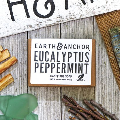 Earth & Anchor Eucalyptus Peppermint Soap