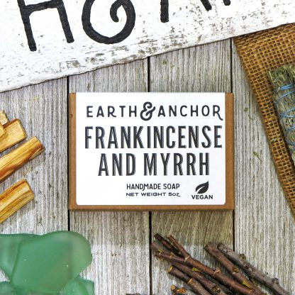 Earth & Anchor Frankincense & Myrrh Soap