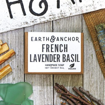 Earth & Anchor French Lavender Basil Soap