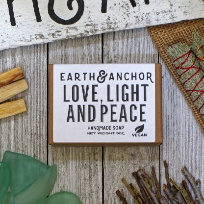 Earth & Anchor Love Light & Peace Soap