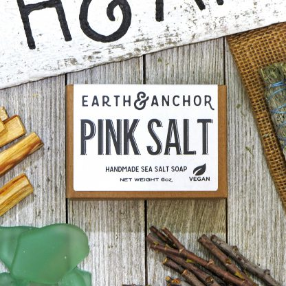 Earth & Anchor Pink Sea Salt Soap