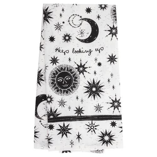 Keep Looking Up Celestial Tea Towel