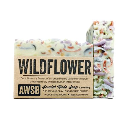 A Wild Soap Bar Wildflower