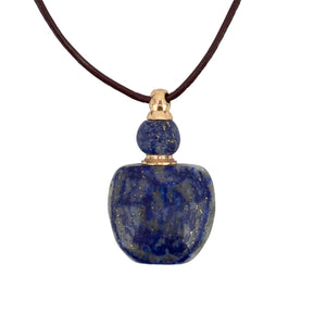 Zengo Stone and Crystal Vial Necklaces