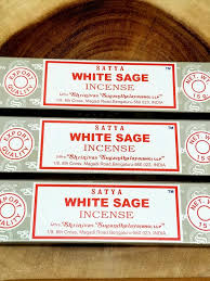 Satya Sai Baba White Sage Incense