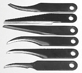 6SBL Carving Blade Assortment