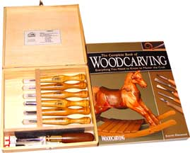 Combi LJ & Basic Woodcarving Book Special FREE SHIPPING in lower 48 states