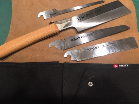 Kakuri Japanese Saw Set
