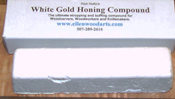 White Gold sharpening compound