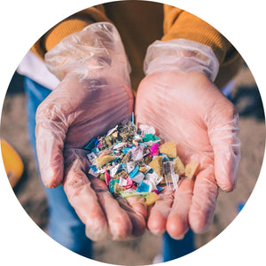 Recycled polyester releases micro-plastics in the ocean