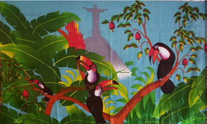 Toucans in Corcovado Blue Sky