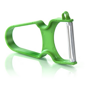 Zena Swiss Rapid Inox potato peeler green