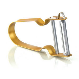 Rex Inox potato peeler yellow
