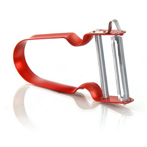Rex Inox vegetable peeler red