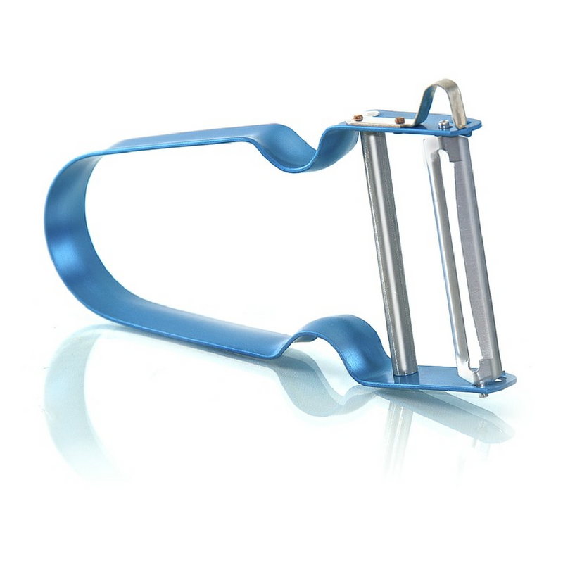 Zena Swiss Rex Inox vegetable peeler blue