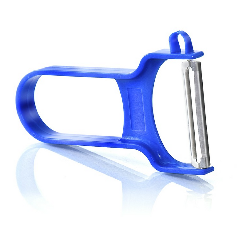 Zena Swiss Slim Inox vegetable peeler blue
