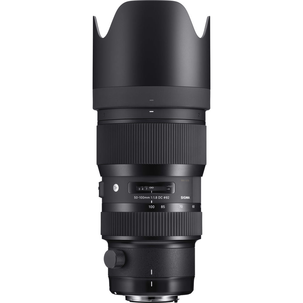 Sigma 50-100mm ART Zoom EF Top