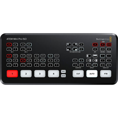 Blackmagic Design - ATEM Mini Pro ISO